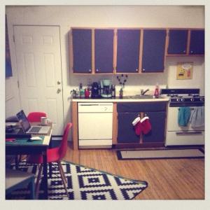 Not the worst little rental kitchen!
