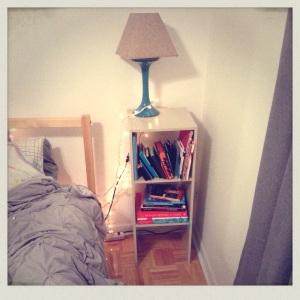 The always temporary shelf...