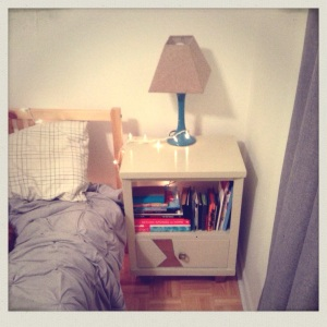 So nice... and ahem, convenient bedside drawer...
