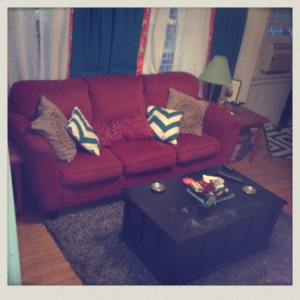 Red Couches!